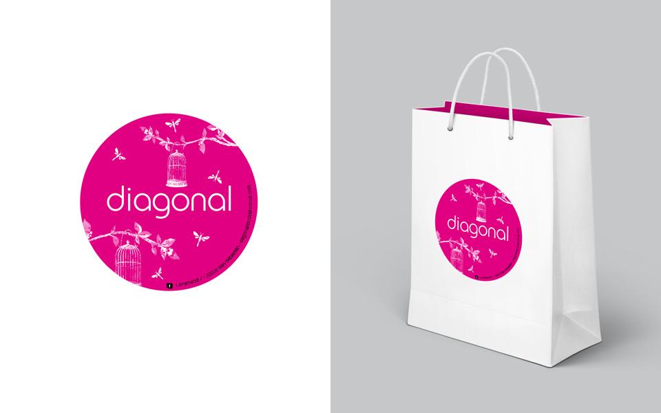 diseño logtipio + bolsa