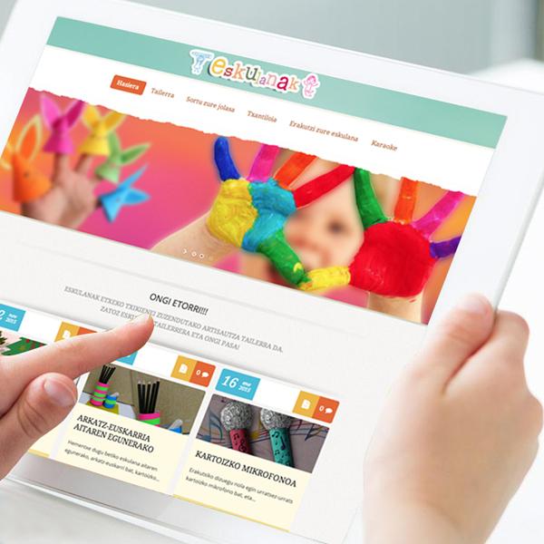 Manualidades online – Web